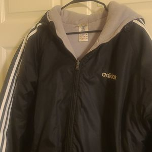 Men's Reversible Adidas Heavy Winter Jacket